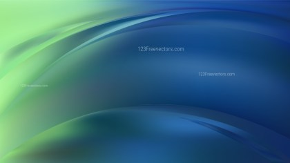 Abstract Blue and Green Graphic Background