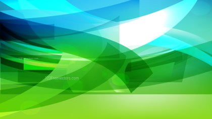Abstract Blue and Green Background Vector Illustration