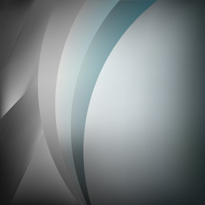 Abstract Blue and Grey Graphic Background