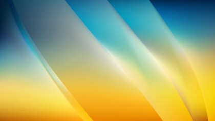 Blue and Orange Background Vector Image