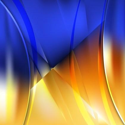 Blue and Orange Background