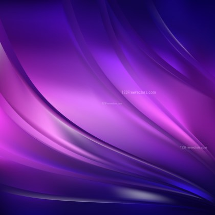 Abstract Blue and Purple Background Design