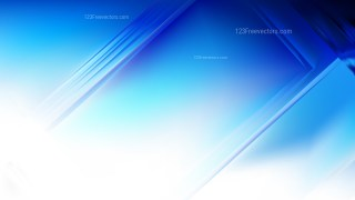 Abstract Blue and White Background Design