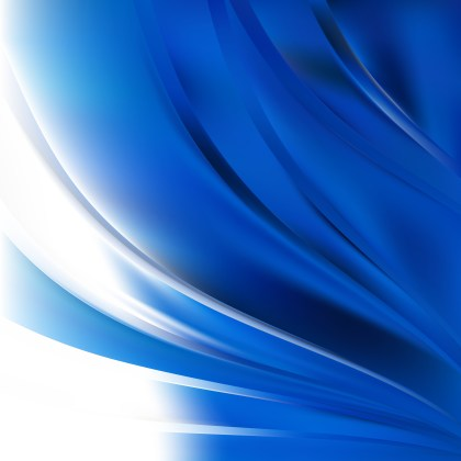 Blue and White Background Vector Image