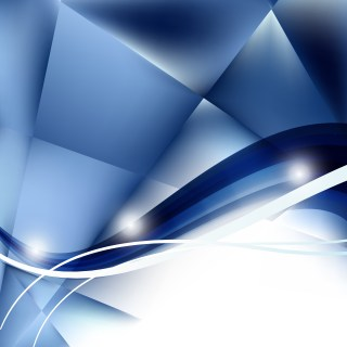 Abstract Blue and White Background Vector Illustration