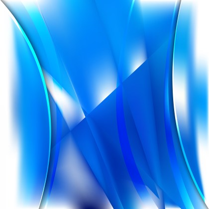 Blue and White Background