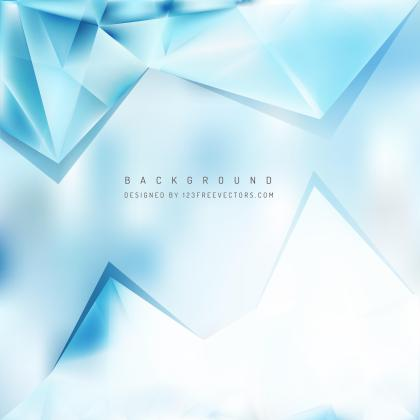 Abstract Light Blue Triangle Polygonal Background