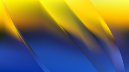 Abstract Blue and Yellow Graphic Background