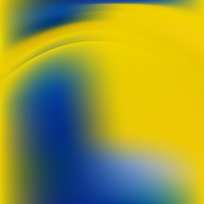 Blue and Yellow Background Graphic