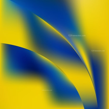 Blue and Yellow Background