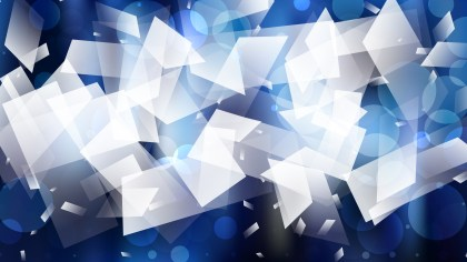 Abstract Blue Black and White Background Vector Illustration