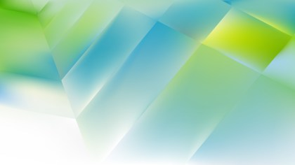 Blue Green and White Background Vector Image