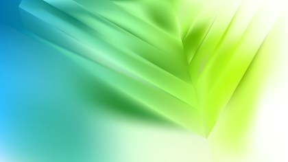Abstract Blue Green and White Background Vector Illustration