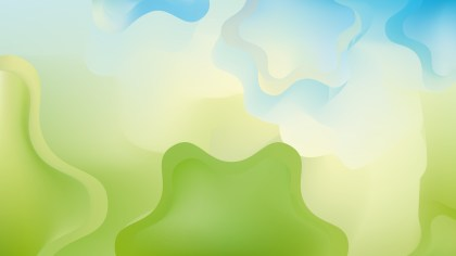 Blue Green and White Background Graphic