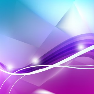 Abstract Blue Purple and White Background Vector Illustration
