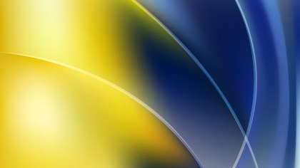 Blue Yellow and Black Background