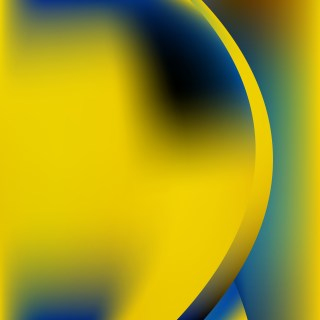 Blue Yellow and Black Background Vector Image