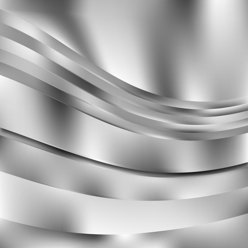 Bright Grey Background Vector Image