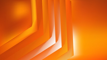 Abstract Bright Orange Graphic Background