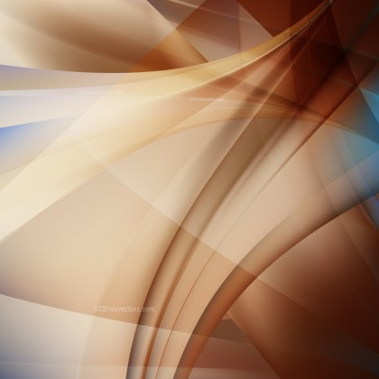 Abstract Brown Background Vector Illustration