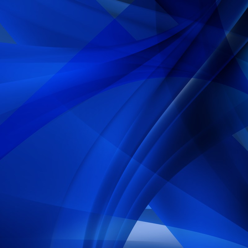 Abstract Cobalt Blue Graphic Background