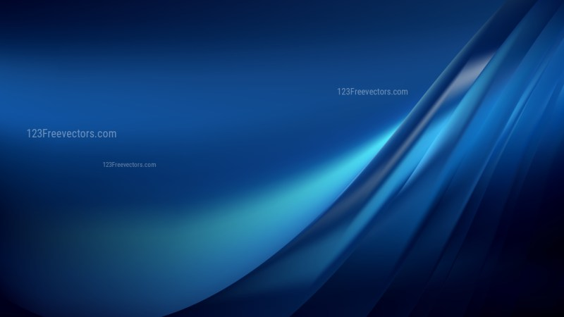 Cool Blue Background Vector Image