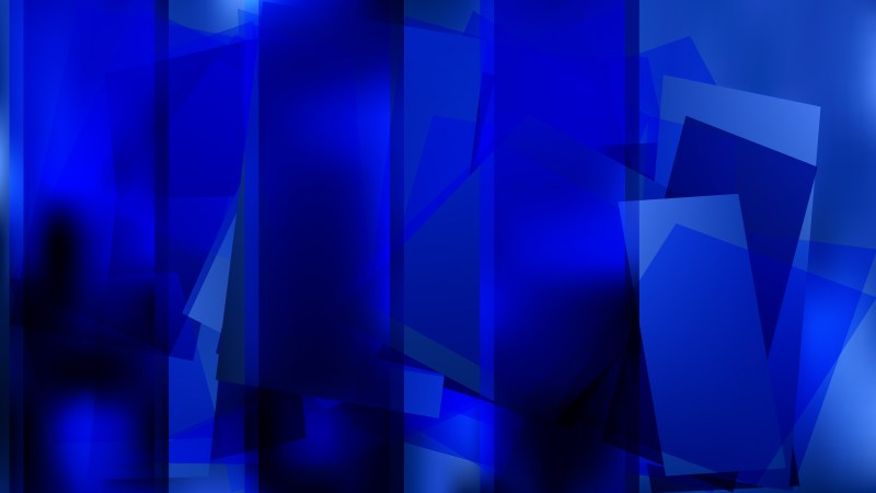 Abstract Cool Blue Background Vector Illustration