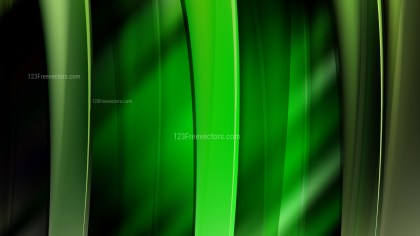 Abstract Cool Green Background Vector Illustration