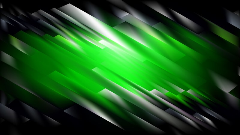 Abstract Cool Green Graphic Background