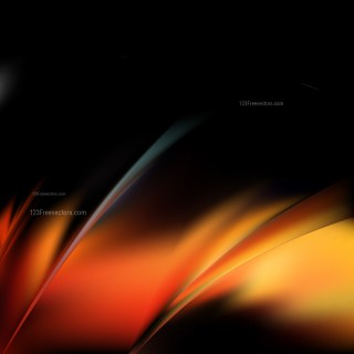 Abstract Cool Orange Graphic Background