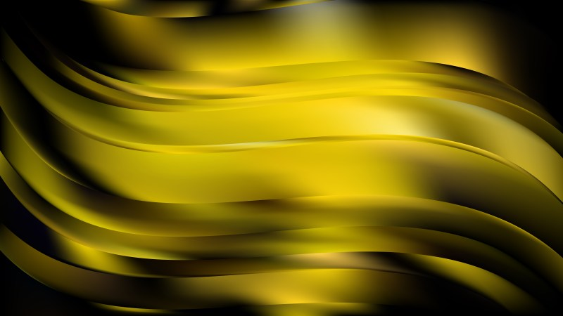 Abstract Cool Yellow Background
