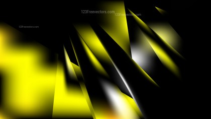 Abstract Cool Yellow Background Vector Illustration