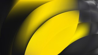 Abstract Cool Yellow Graphic Background
