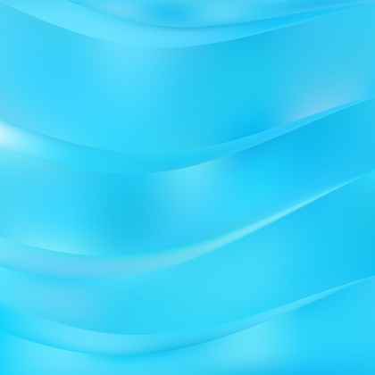 Abstract Cyan Background Design
