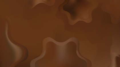 Abstract Dark Brown Background Vector Illustration