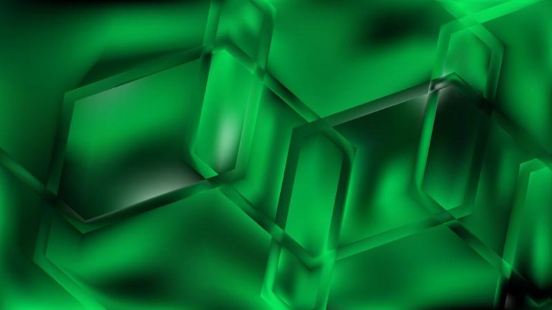 Abstract Dark Green Background