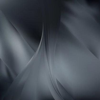 Abstract Dark Grey Background Vector Illustration