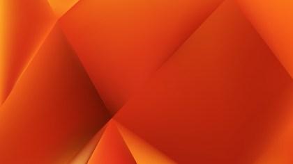 Abstract Dark Orange Background Vector Illustration