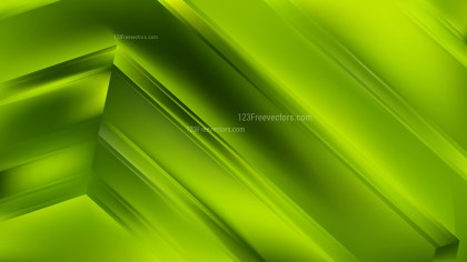 Abstract Green Background Vector Illustration