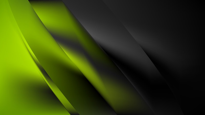 Abstract Green and Black Graphic Background