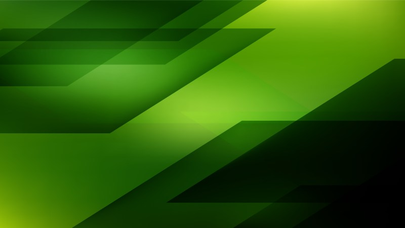 Green and Black Background Graphic