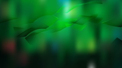 Abstract Green and Black Background Design
