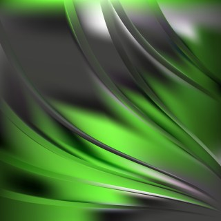 Green and Black Background