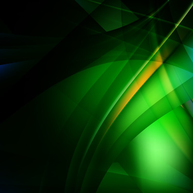 Abstract Green and Black Background