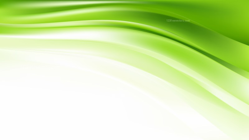 Green and White Background