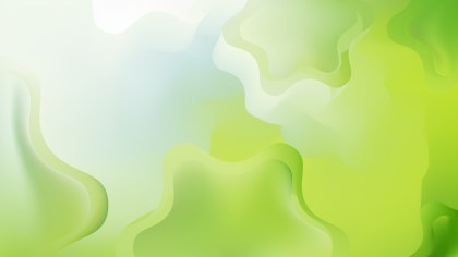 Abstract Green and White Background Design