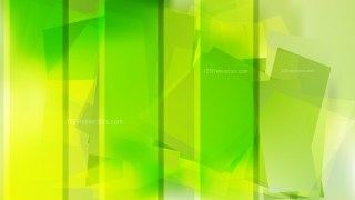 Abstract Green and Yellow Background Vector Illustration