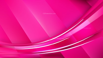 Hot Pink Background Vector Image