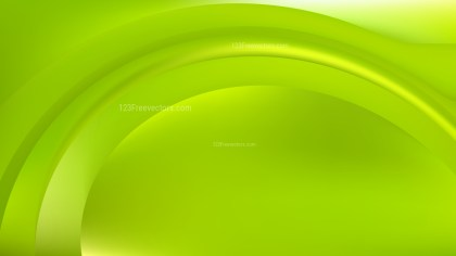 Abstract Lime Green Background Design