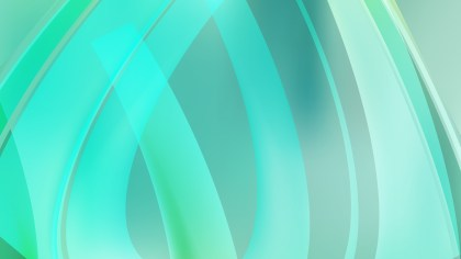 Abstract Mint Green Graphic Background
